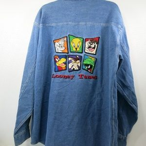 Warner Brothers Looney Tunes Shirt Studio Store XL